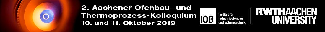 2. Aachener Ofenbau- und Thermoprozess-Kolloquium